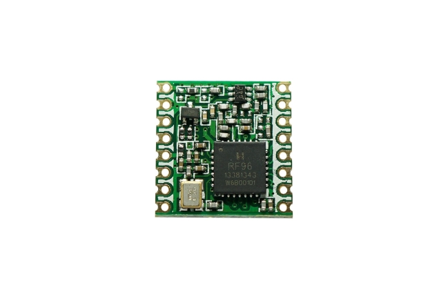 A product image for Module émetteur-récepteur RFM95W LoRA 868 MHz
