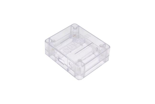 A product image for Boîtier pour cartes WiPy/LoPy/SiPy – transparent