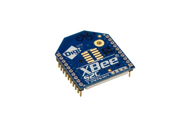 A product image for XBee S2C 802.15.4 , 2,4 GHz, TH