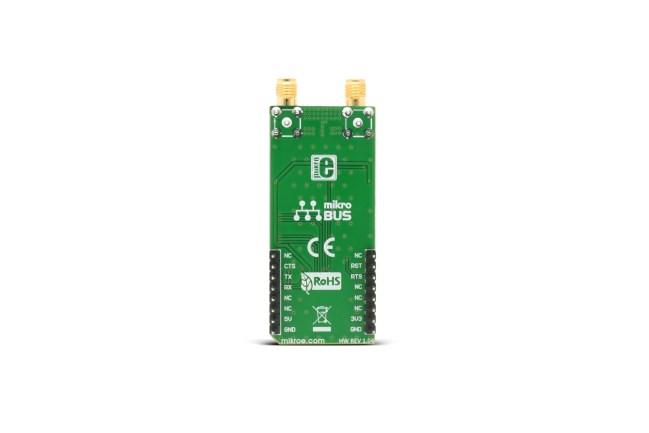 A product image for Carte émetteur-récepteur LoRaà clic 433/868MHz
