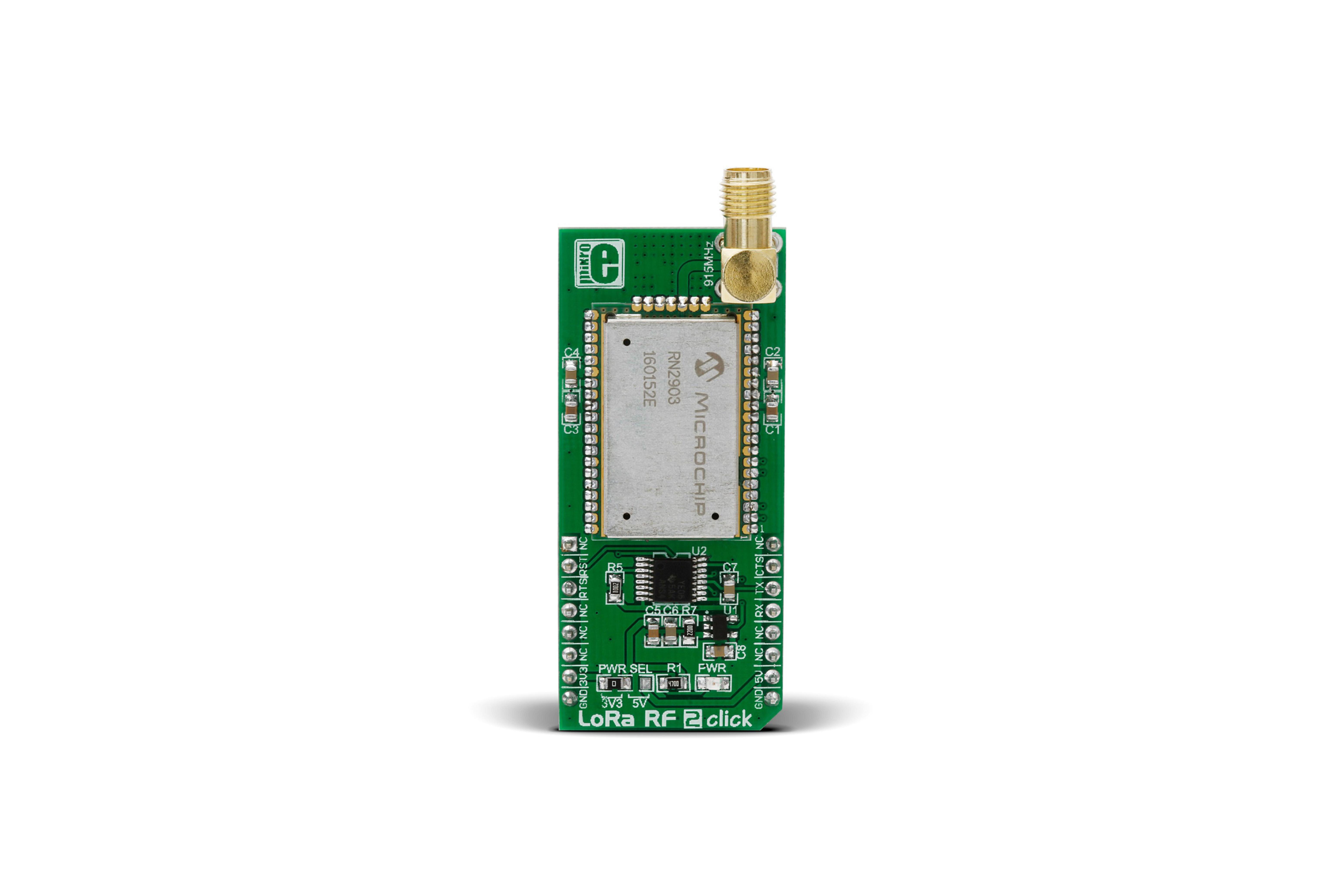 Carte à clic MikroElektronika LoRa 2 mikroBUS pour RN2903