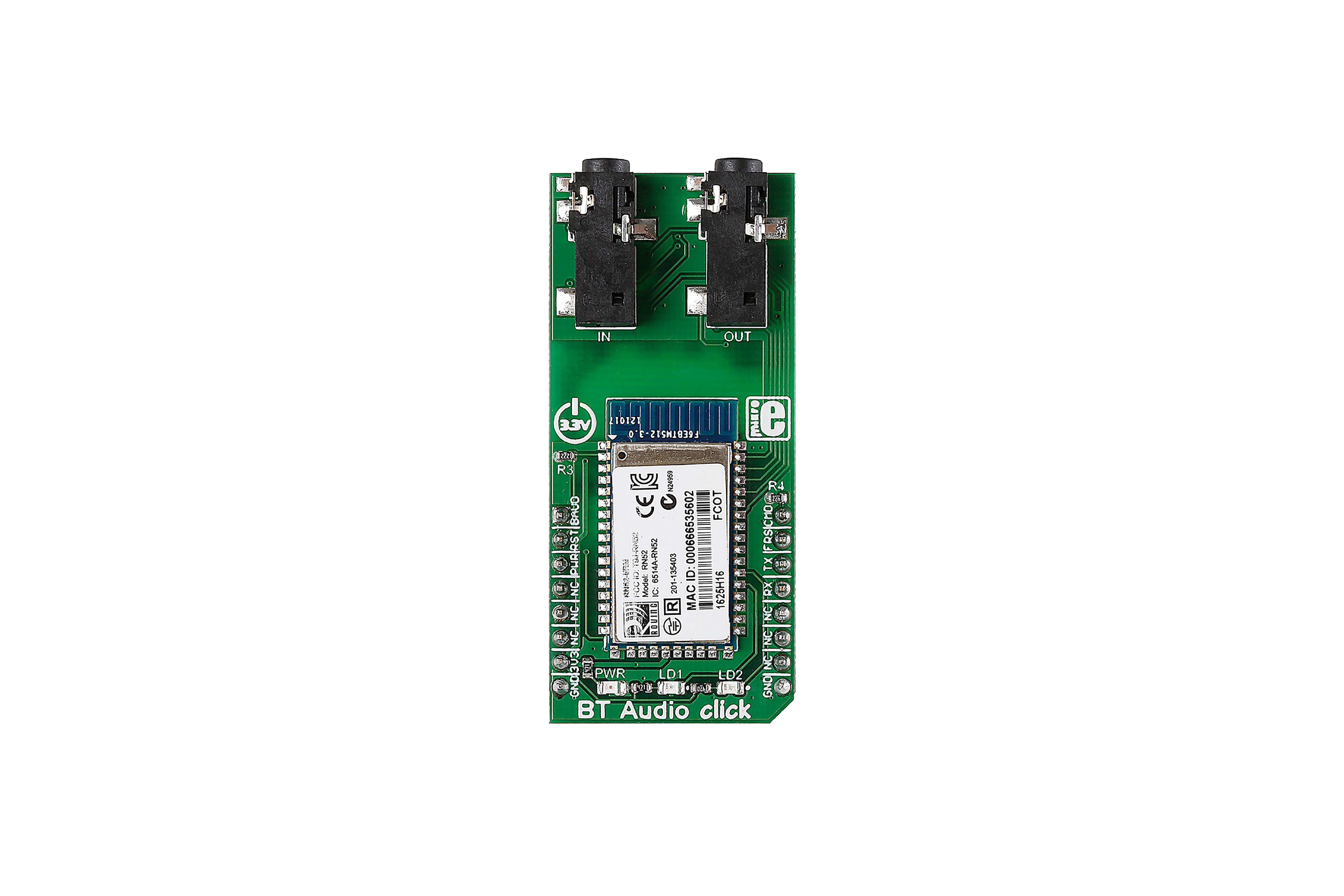 Carte Bluetooth BT Audio à clic