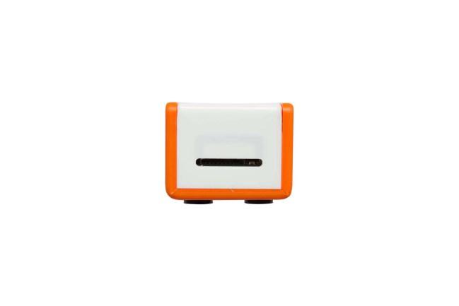 A product image for BOÎTIER ZEROFLICK– ORANGE / BLANC