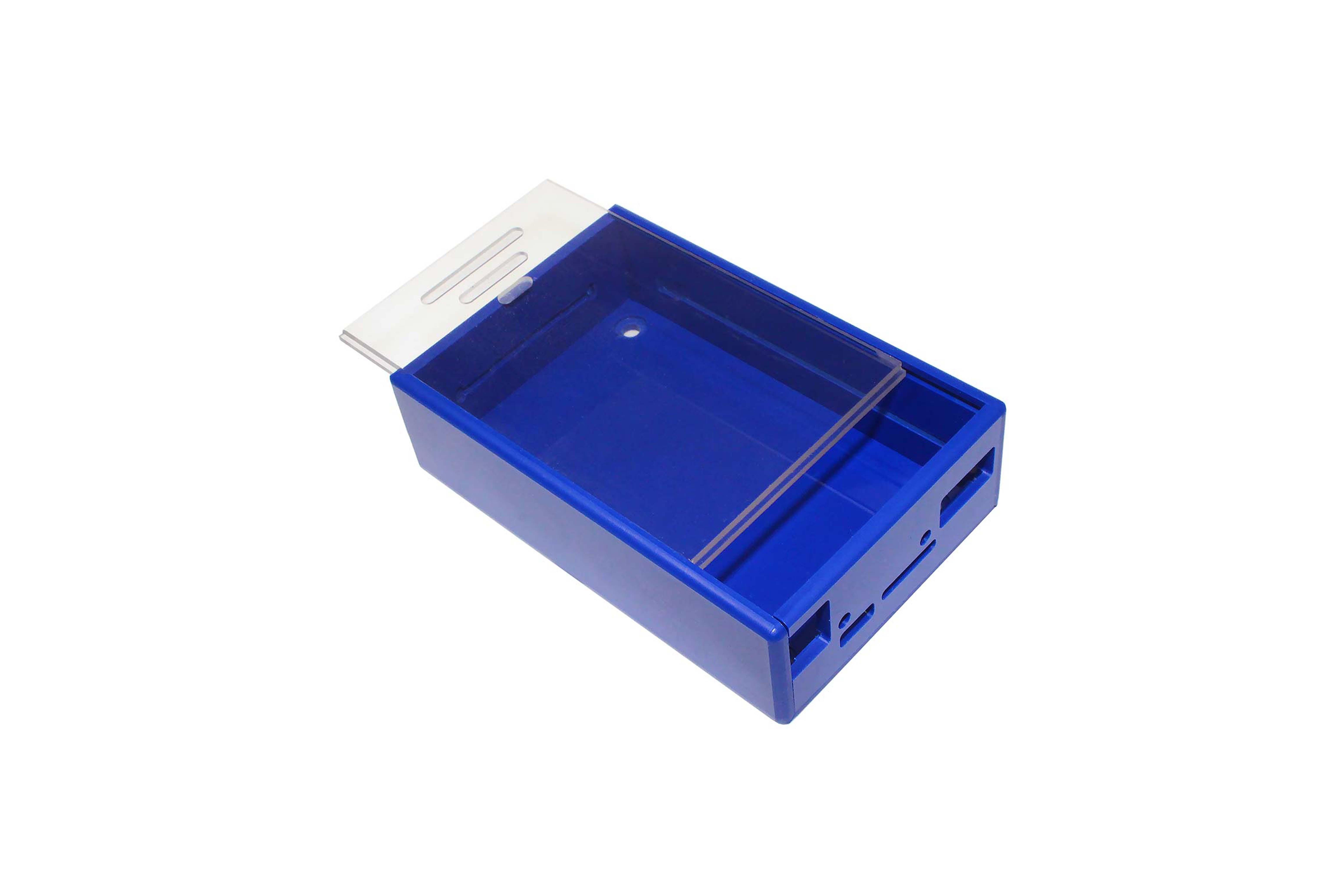 Boîtier bleu DesignSpark Beaglebone, Bleu/Transparent