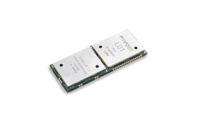 A product image for Module LoRa Wi-Fi BLEPyCom L01 LoPy SoC