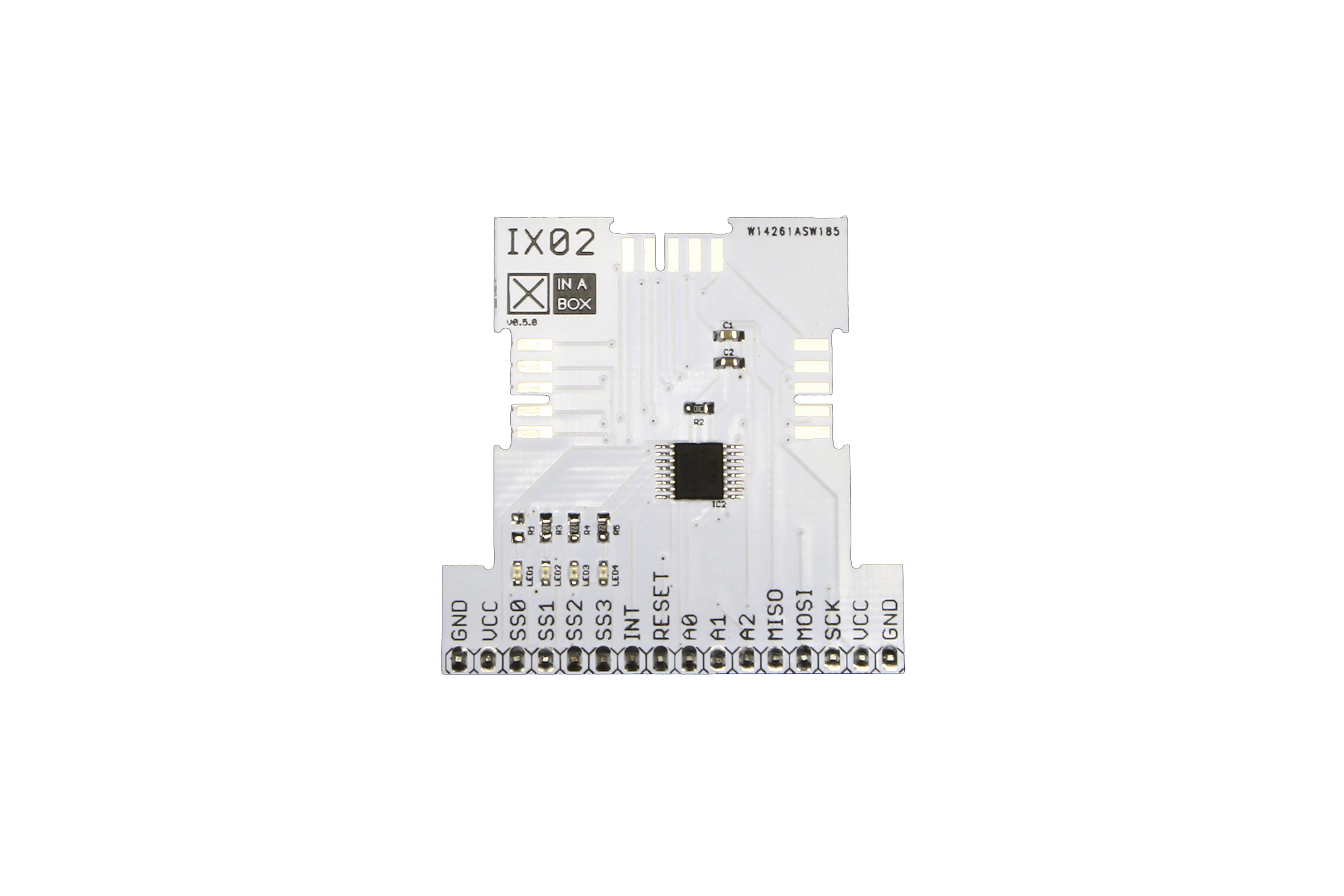 Circuit imprimé SPI àxBUSXinabox(SC18IS602B)