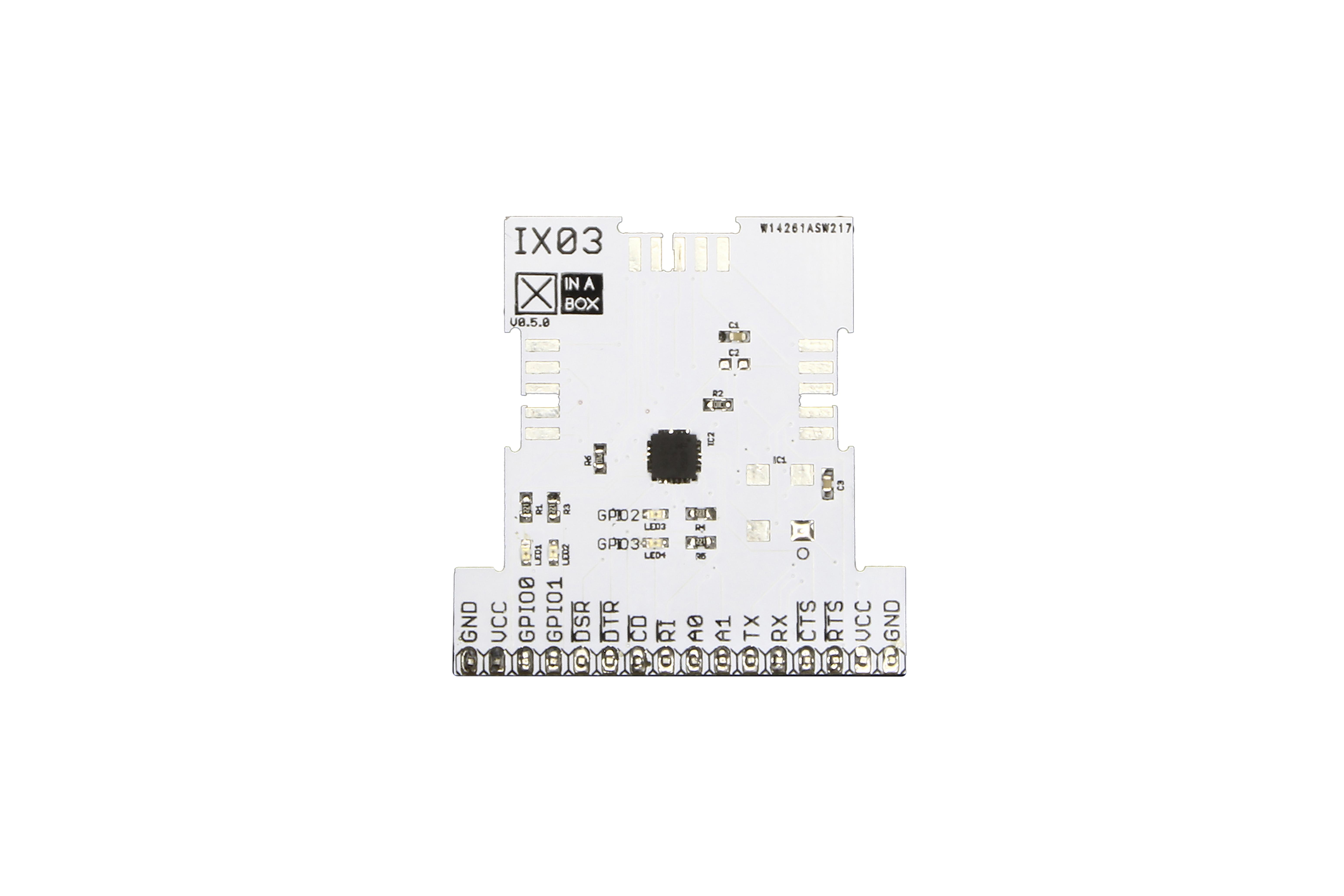 Circuit imprimé UART à xBUS (SC16IS750IBS)