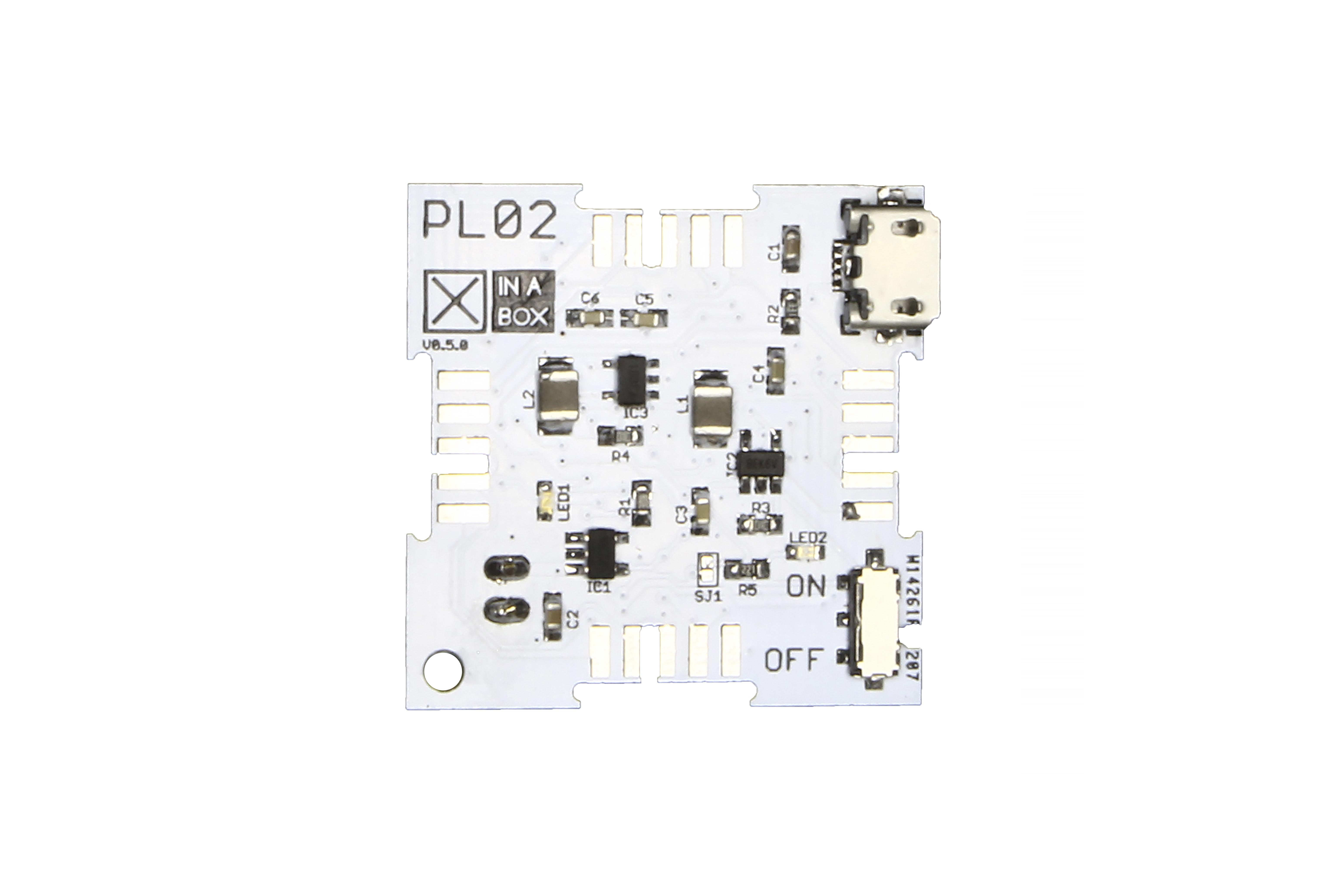 Chargeur de bloc d'alimXinaBox- MCP73831, PAM2305, XC9141
