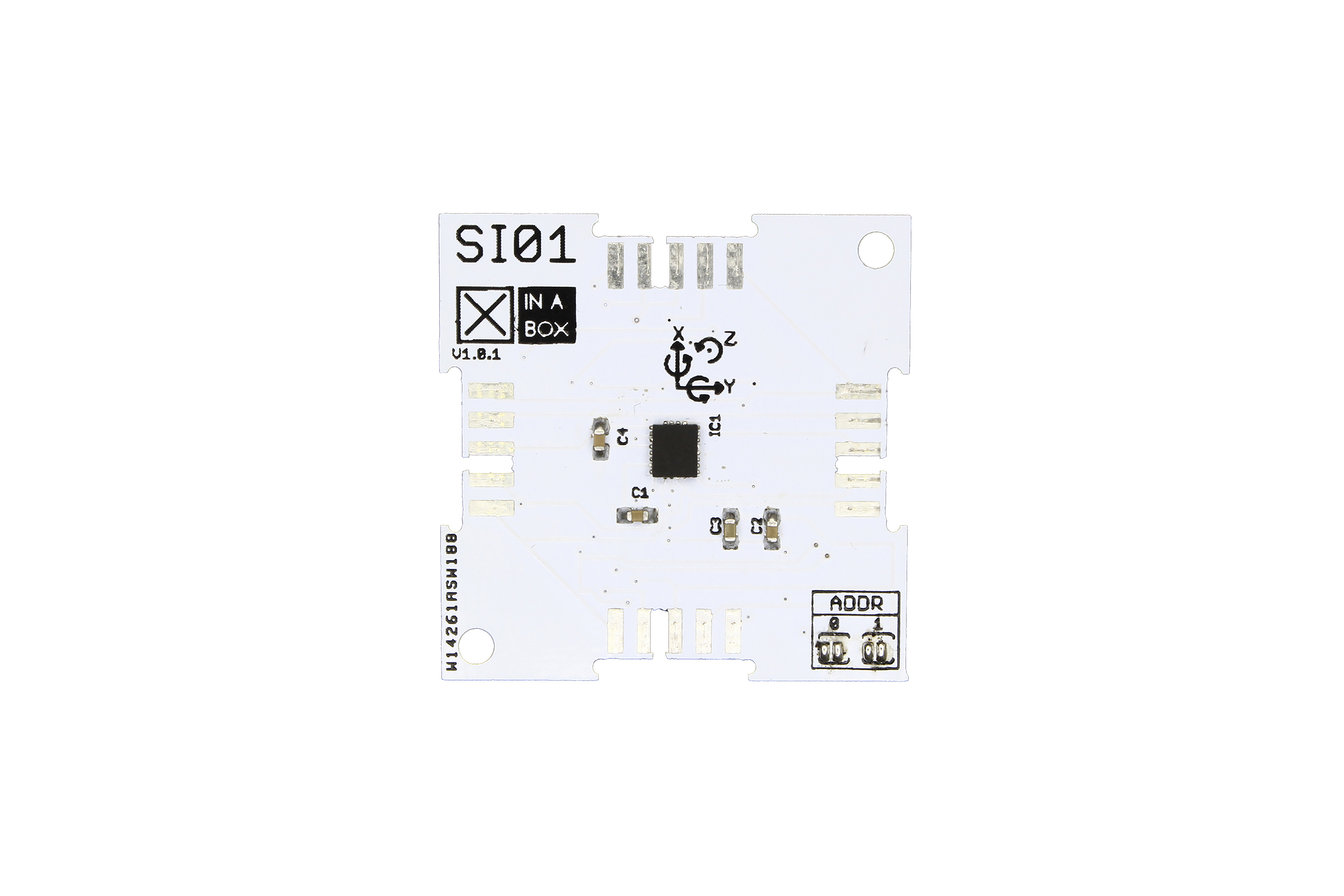 XinaBox SI01, Module IMU 9DoF pour LSM9DS1