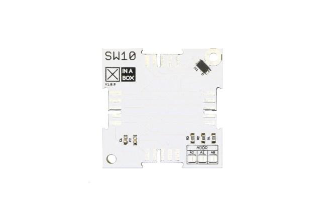 A product image for Capteur de température XinaBox (LM75)