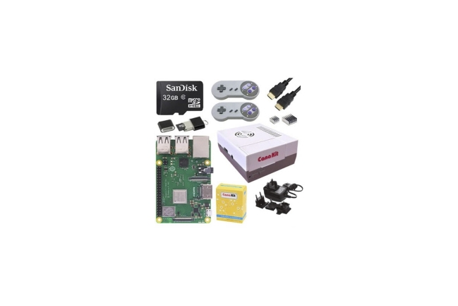 A product image for KIT RÉTRO GAMING RPI 3 B+ – 32 GO