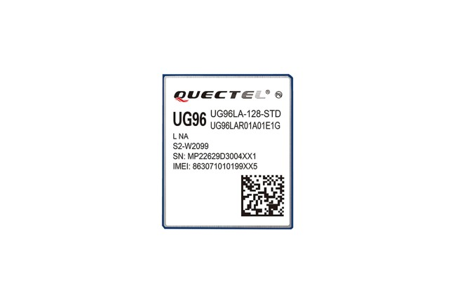 A product image for Module Quectel GSM & GPRS UG96LATEA-128-STD
