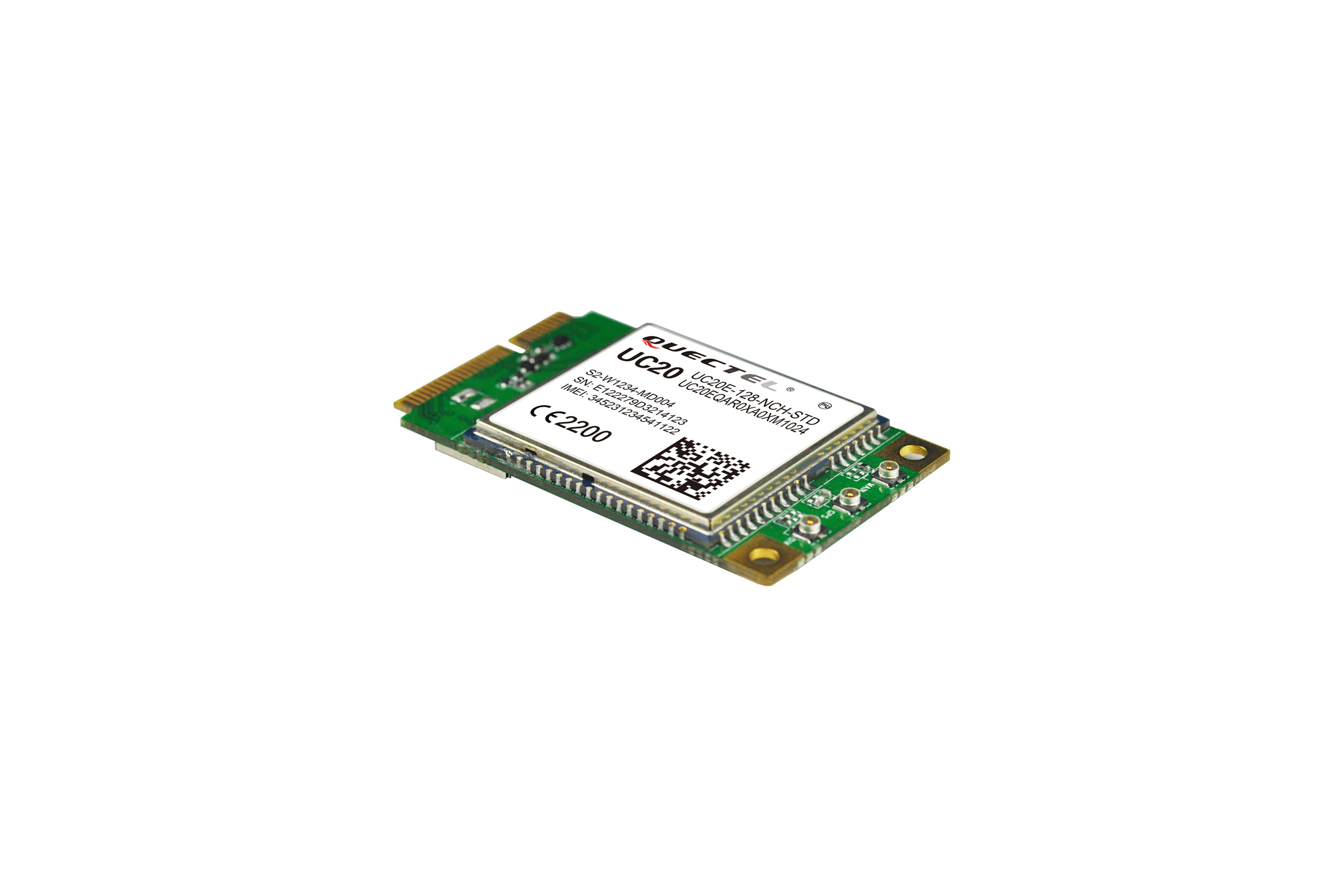 Carte MiniPCIe EC20 - 4G LTE Europe uniquement
