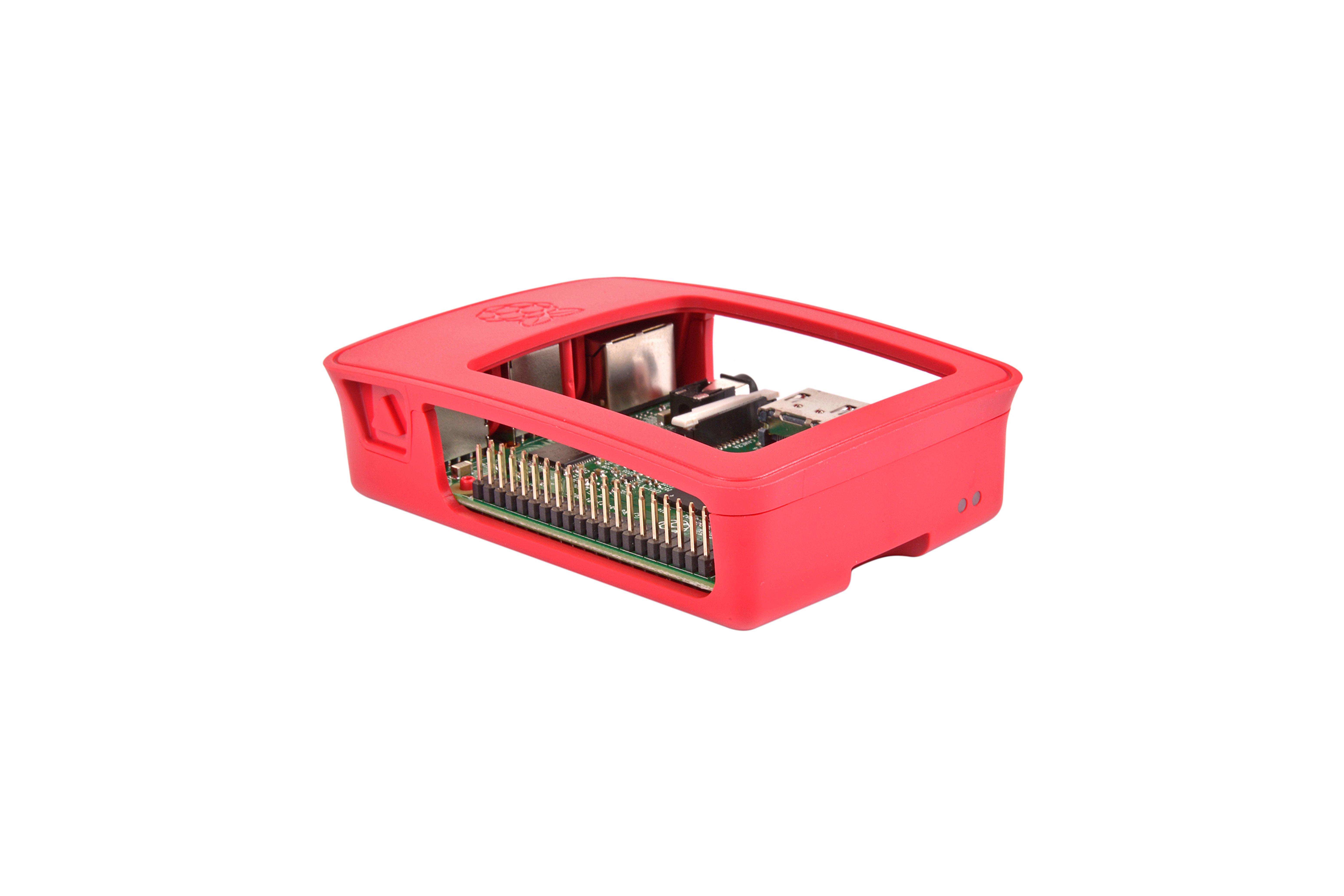 Boîtier officiel de Pi 3 - Rouge/Blanc