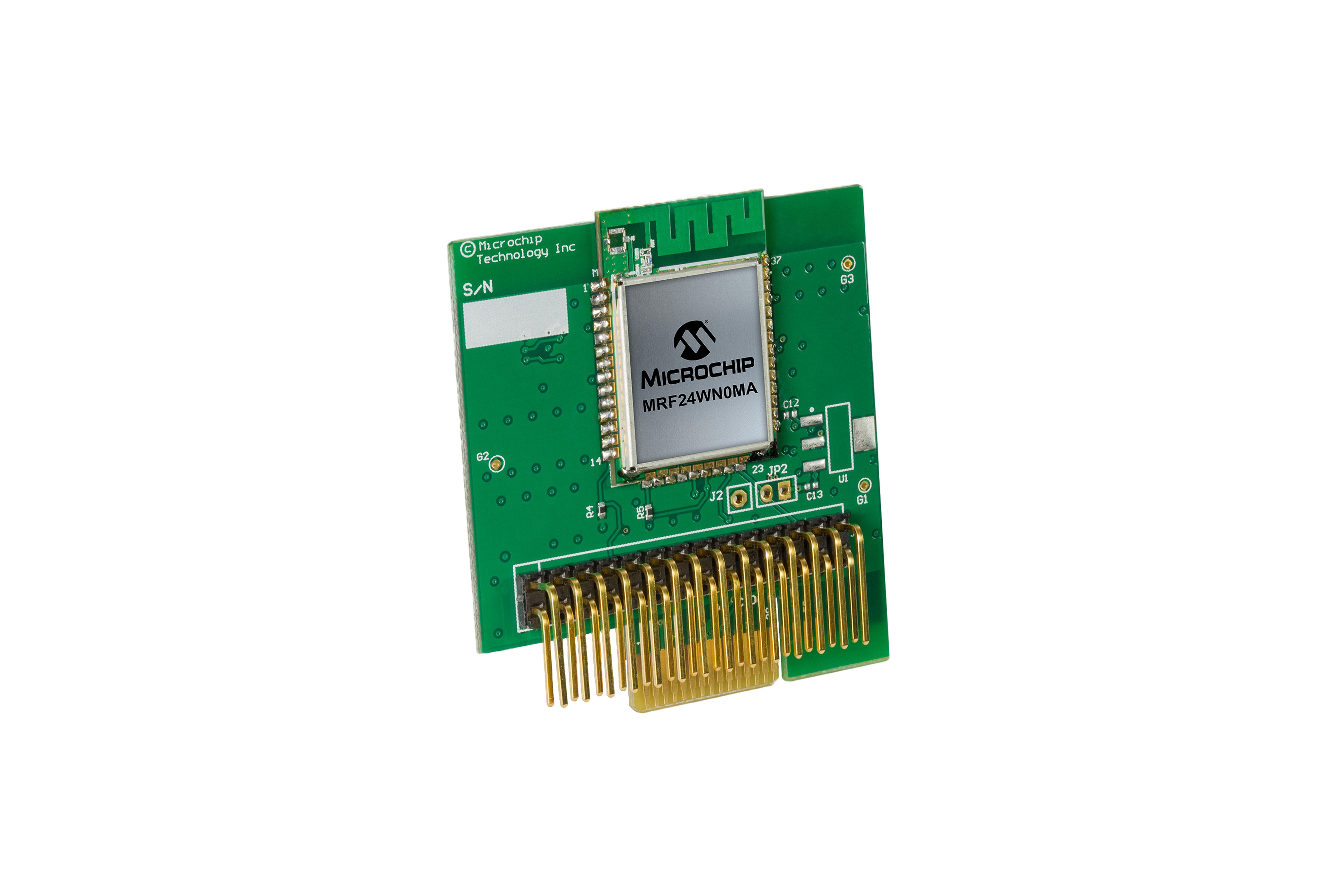 Carte MRF24WN0MA Wi-Fi PICtail Plus