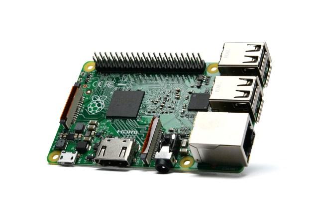 A product image for Raspberry Pi 2 Modèle B