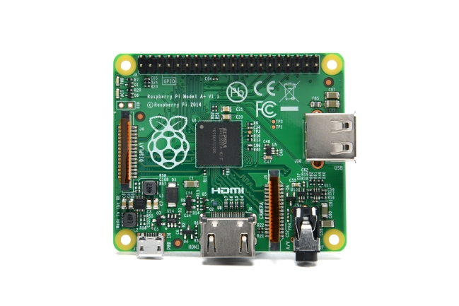 A product image for Raspberry Pi Modèle A+