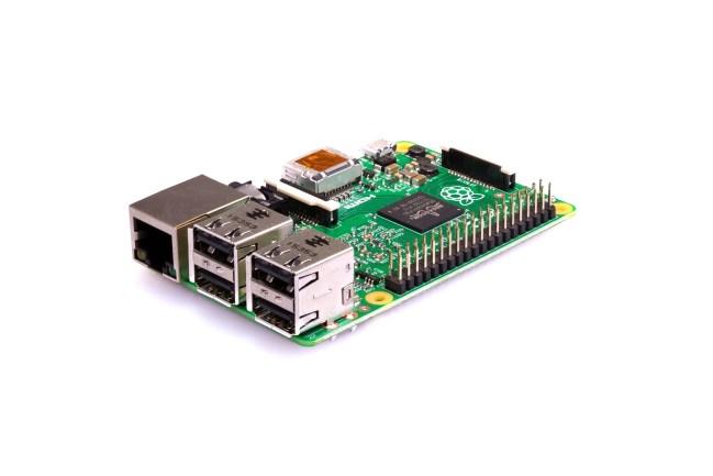 A product image for Raspberry Pi 2 Modèle B V1.2