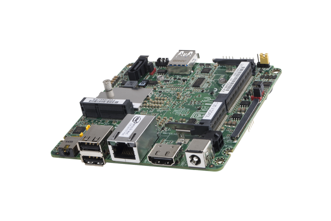 A product image for Intel Thin Canyon NUC Atom E3815 1.46GHz