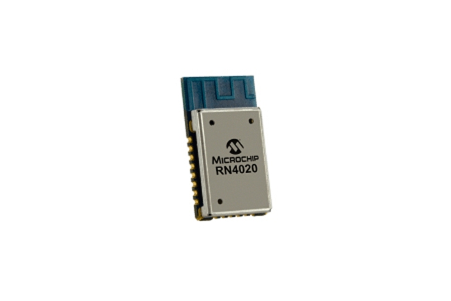 A product image for Puce RN4020-V/RMBEC133 Bluetooth V4.1 Microchip