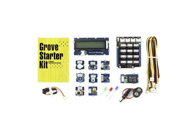 A product image for GROVE – KIT DE DÉMARRAGE POUR ARDUINO