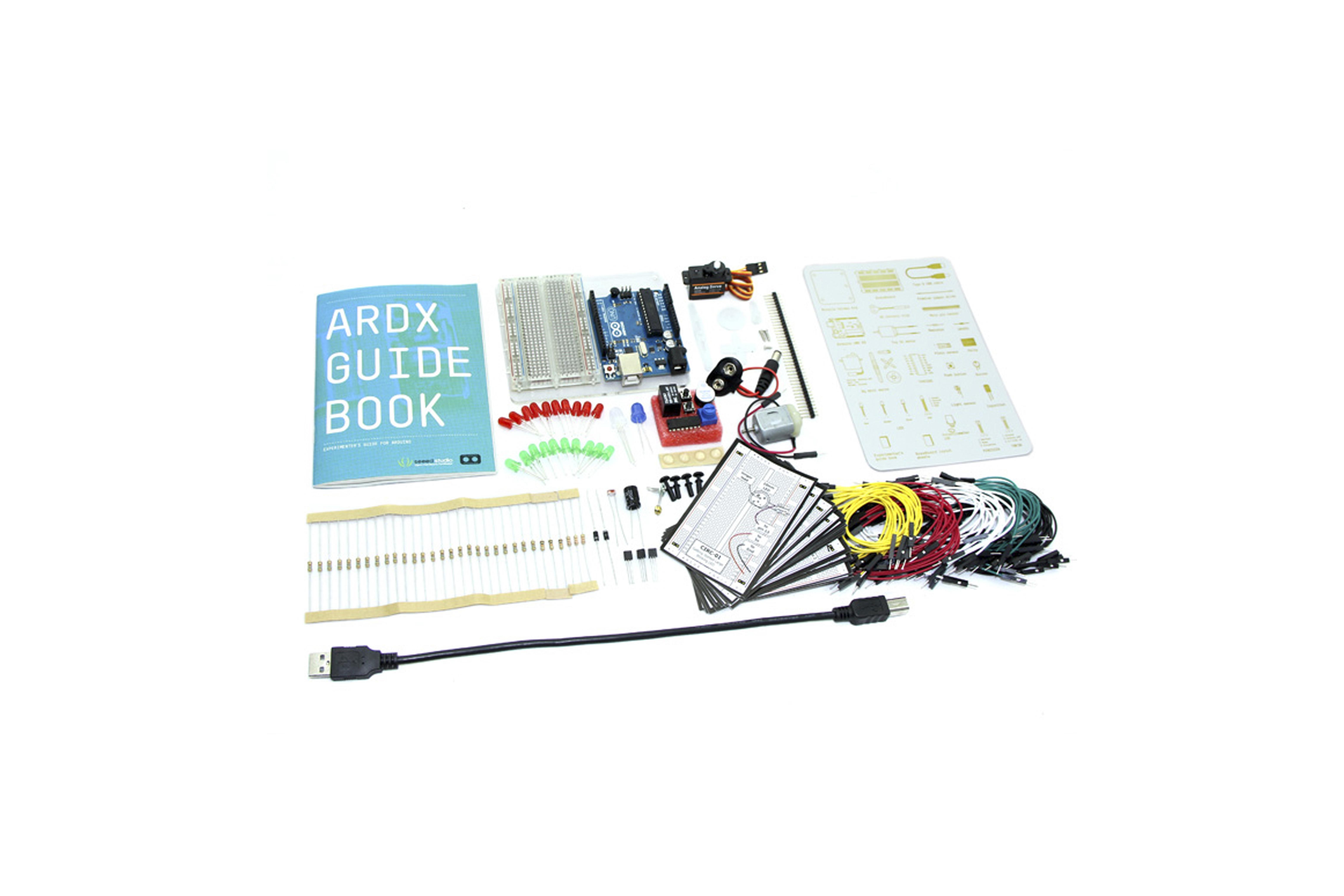 ARDX - KIT DE DÉMARRAGE POUR ARDUINO