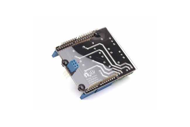 A product image for PROTEC. RELAY SHIELD V3.0 POUR ARDUINO