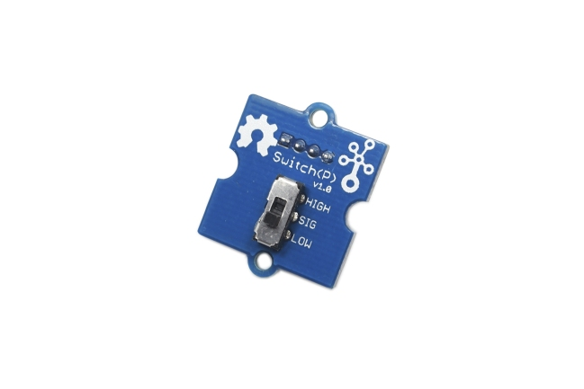 A product image for Carte de dév. de commutateur Seeed Studio Grove-Switch (P)