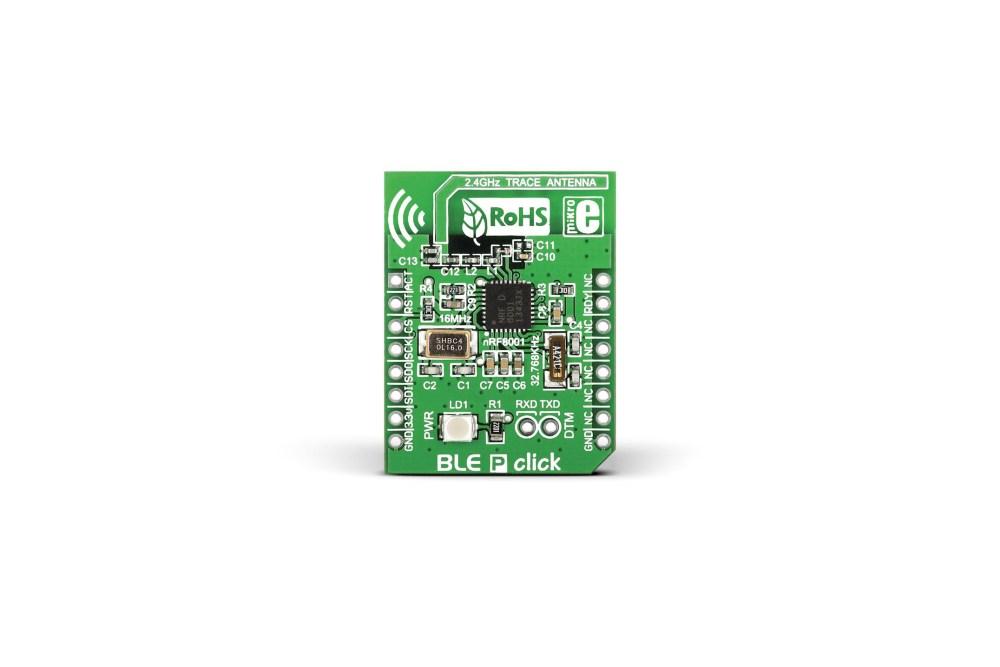 Carte MikroBus Smart MikroElektronika BLEclic pour nRF8001