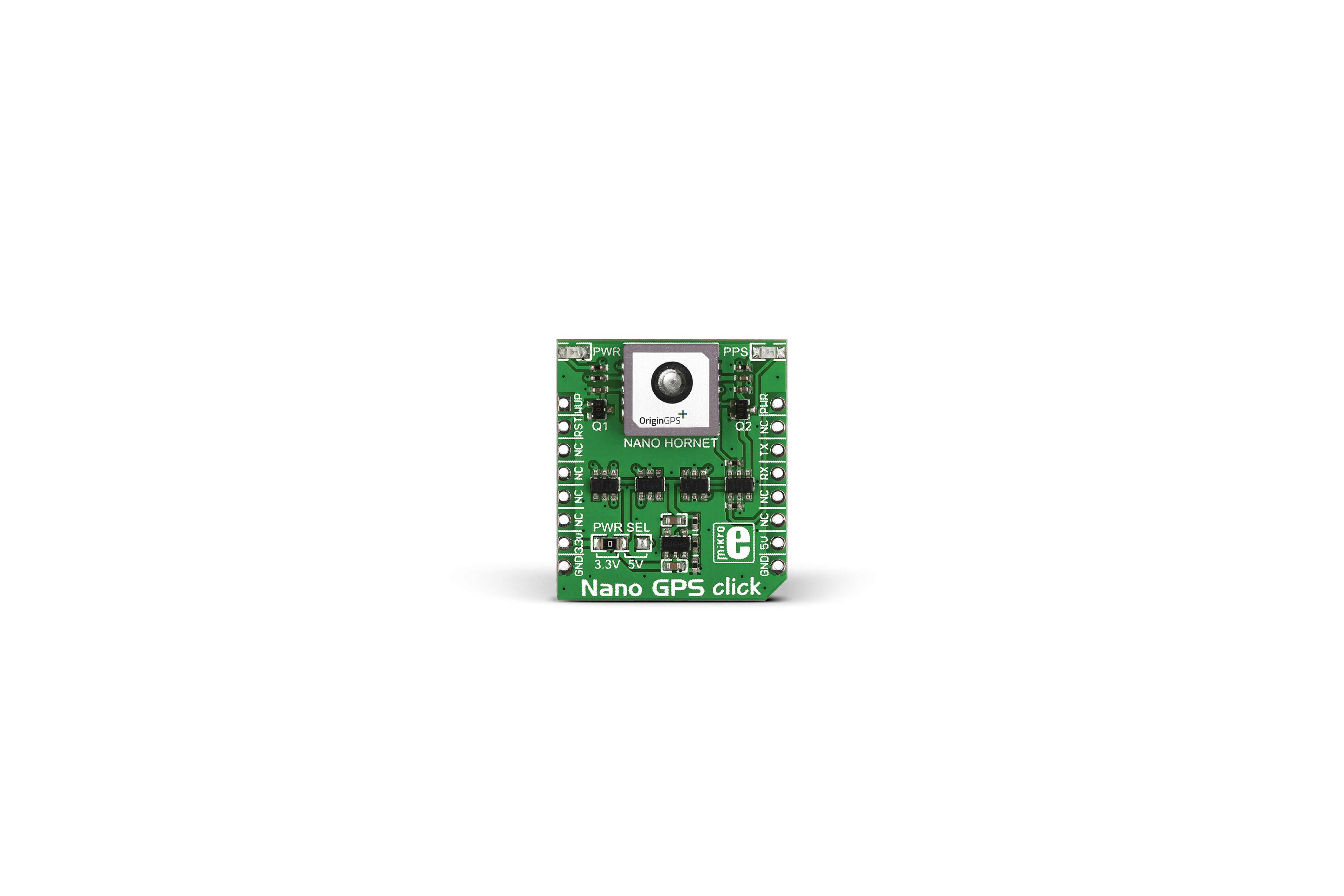 Carte à clic MikroElektronika Nano mikroBus pour Nano Hornet