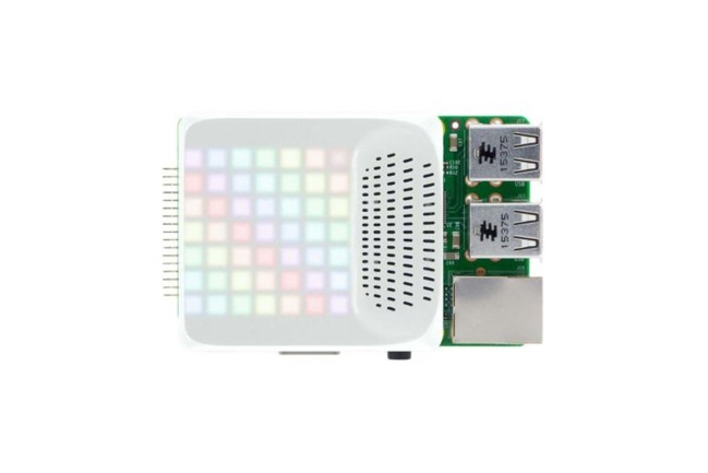 A product image for Haut-parleur Smart Speaker avec matrice LED Pi-TopPULSE