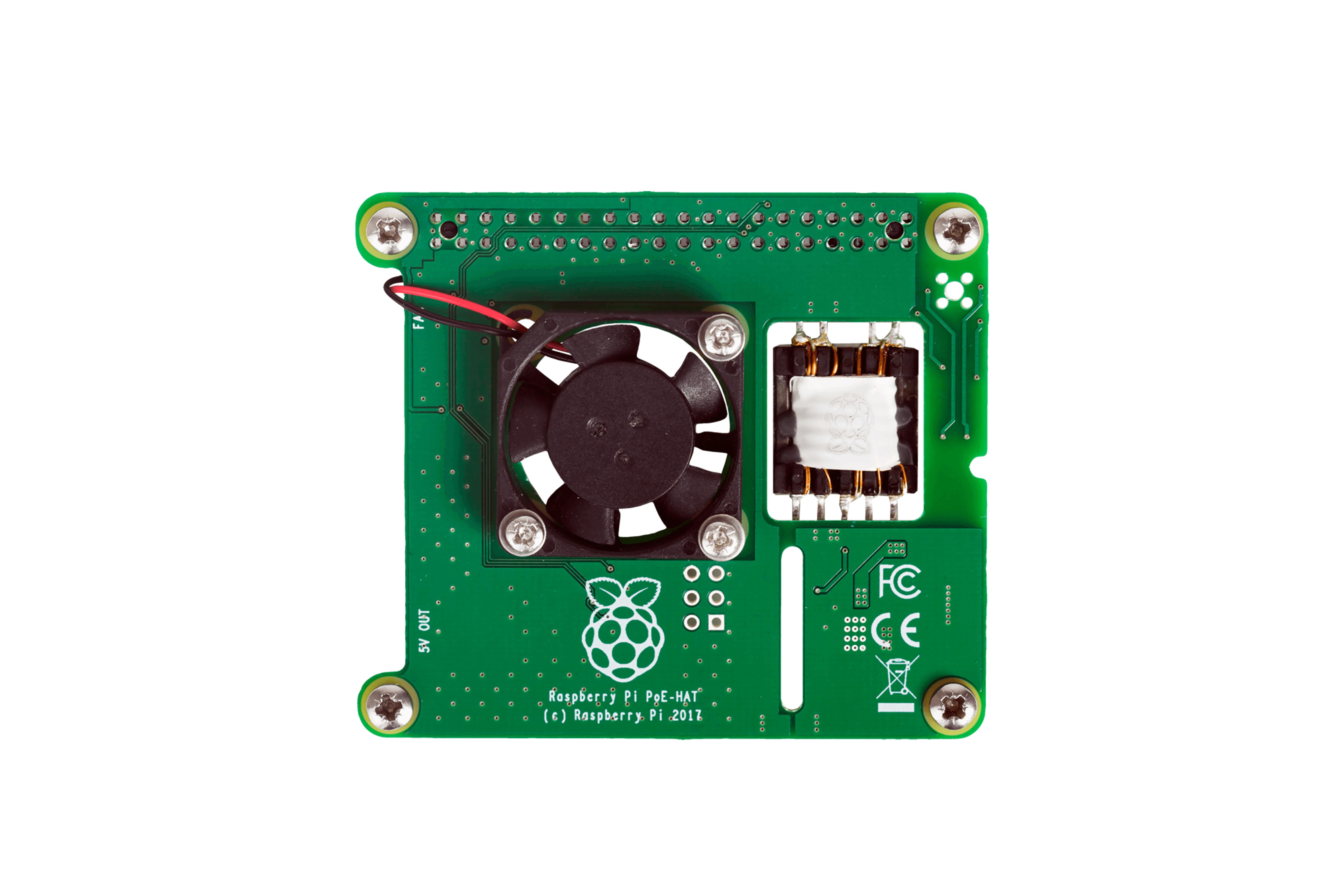 Carte POE pour Raspberry Pi