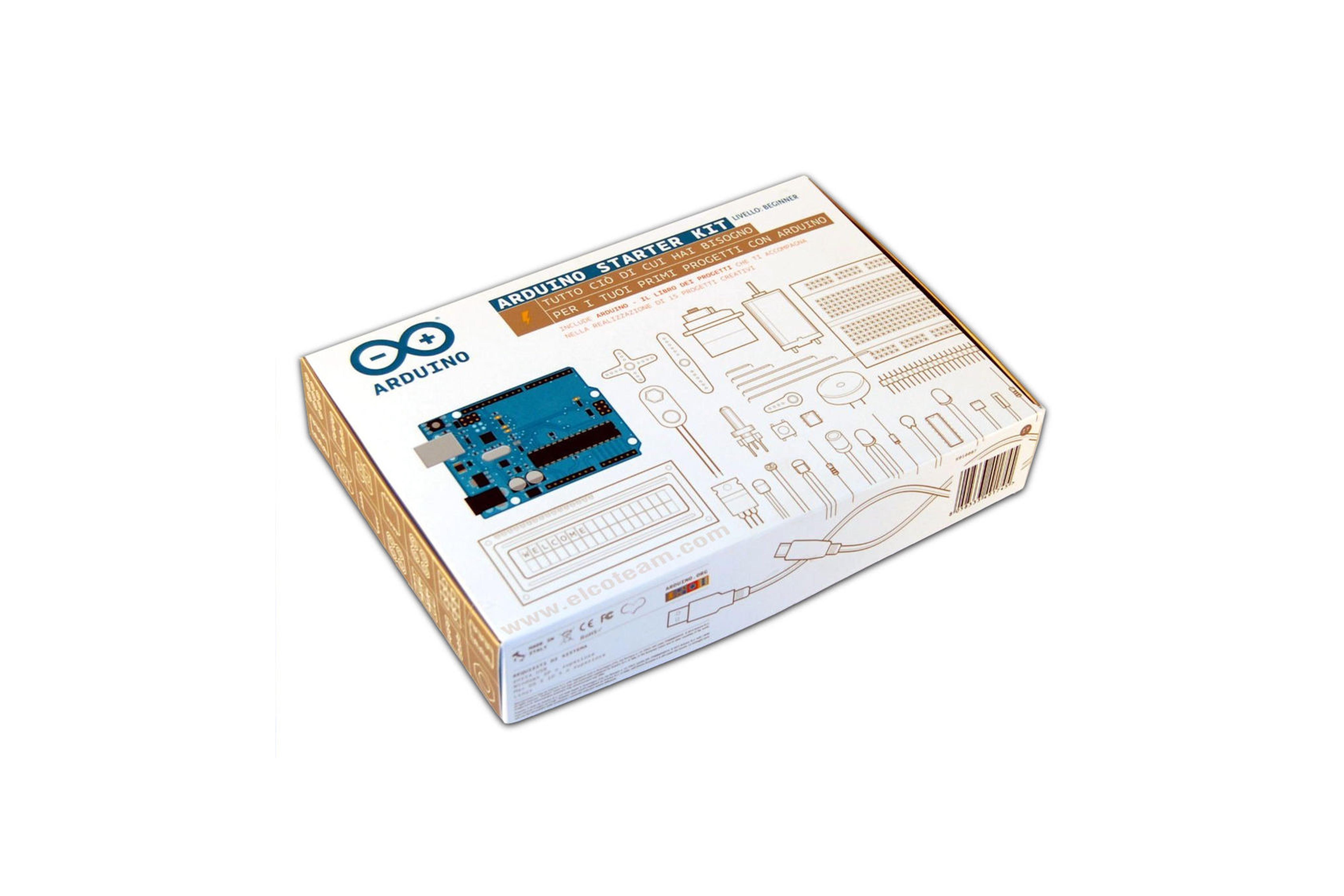 Kit de démarrage Arduino Italie