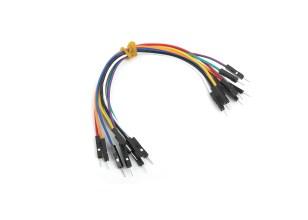 Cavaliers de câble mâle à mâle 10 pièces