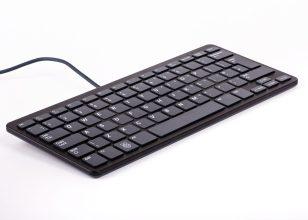 Raspberry Pi Keyboard Fr Black/Grey