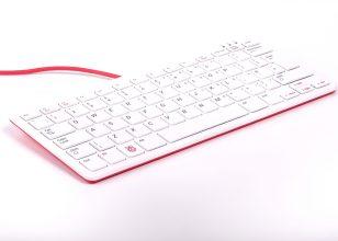 Raspberry Pi Keyboard Fr Red/White