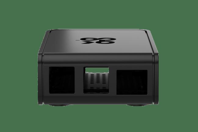 A product image for Boîtiercoulissant OKdo2 pièces noir