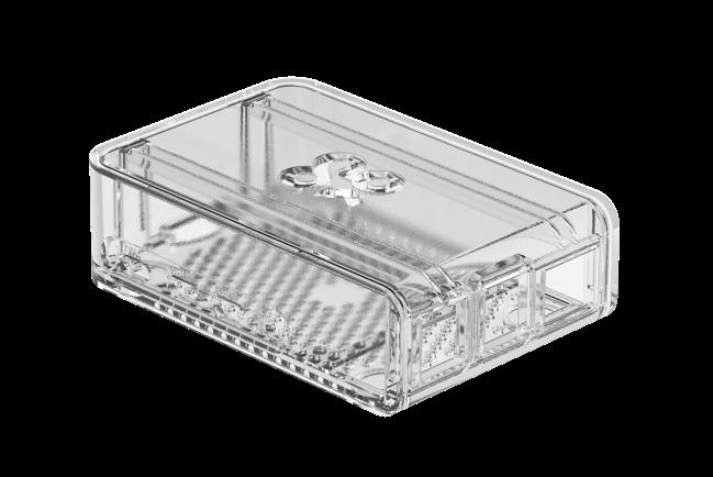 A product image for Boîtiercoulissant OKdo2 pièces transparent