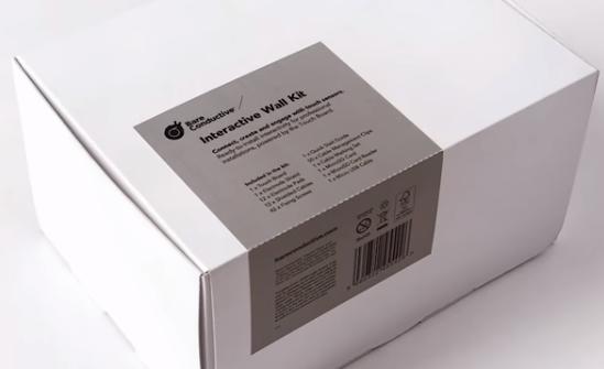 A product image for Bare Conductive kit de paroi interactive