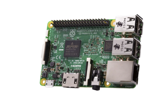 A product image for Raspberry Pi 3 Modèle B SBC