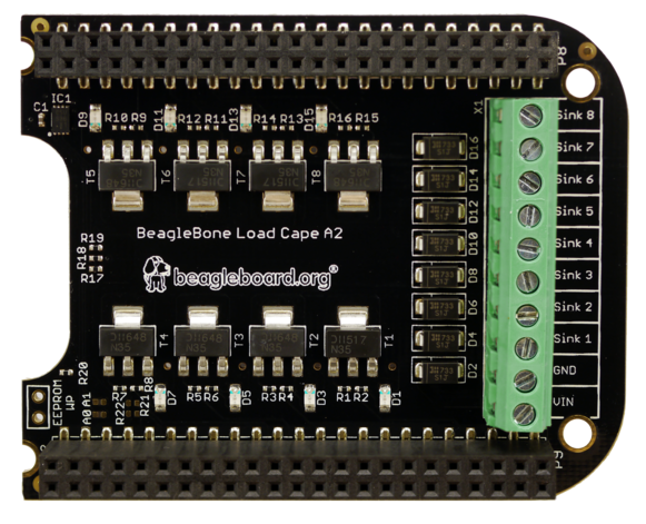 A product image for BeagleBone Load Cape