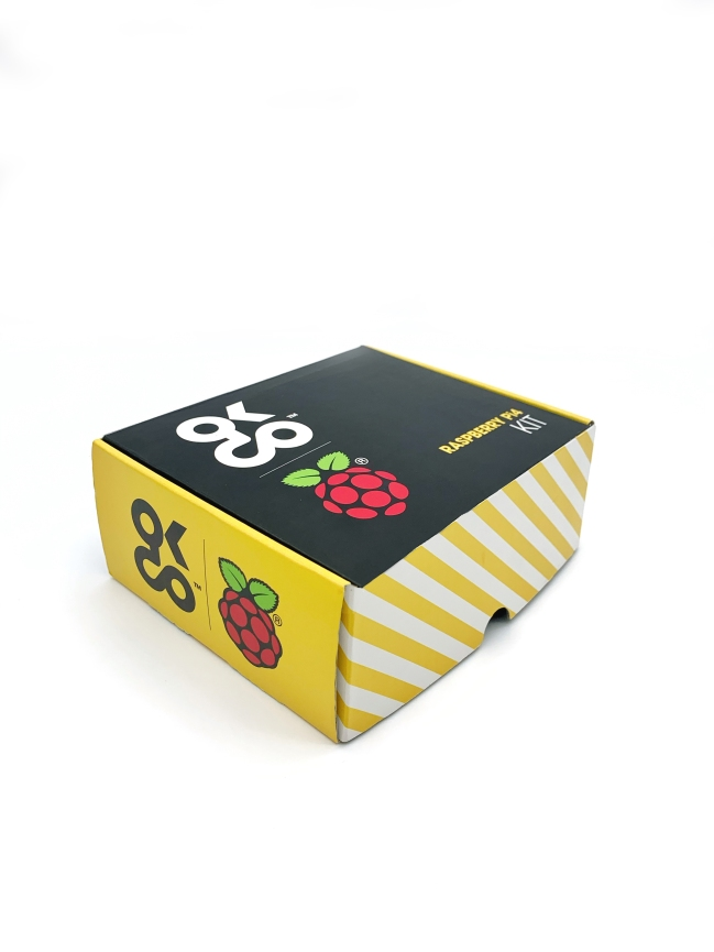 A product image for Raspberry Pi 4 Kit de base 4GB version UE