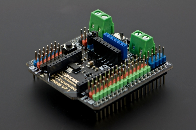 A product image for Gravity: IO Expansion Shield for Arduino V7.1