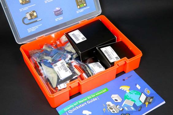 A product image for Kit de démarrage IOT Gravity de DF Robot pour micro:bit