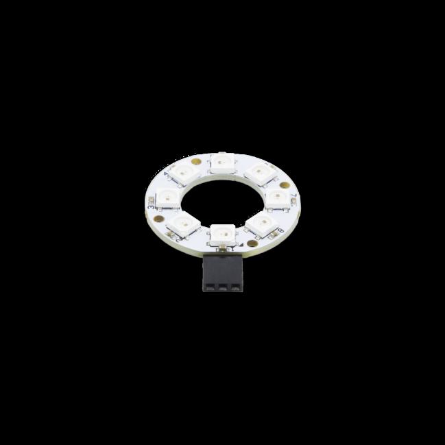 A product image for Bague LED arc-en-ciel RGB PI Supply 8