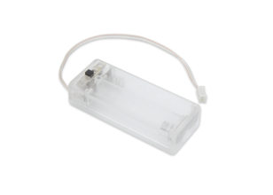 Bloc-batterie transparent PI Supply 2 x AAA pour micro:bit