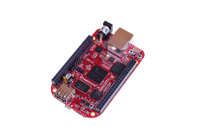 A product image for BeagleBone Black Industrial