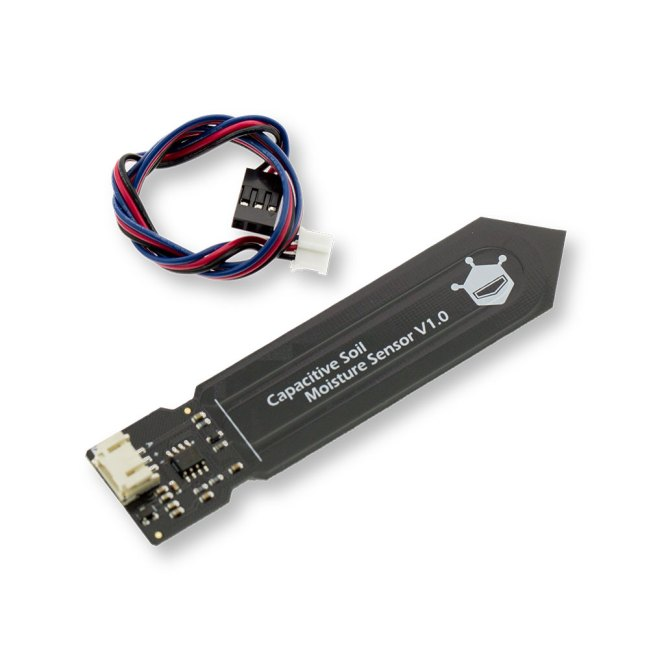 A product image for Gravity: Analog Capacitive Soil Moisture Sensor- Corrosion Resistant