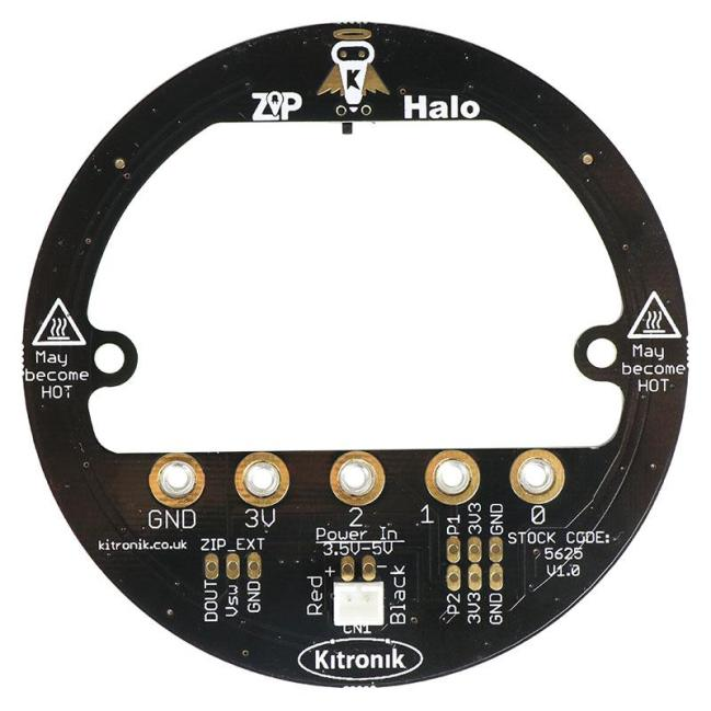 A product image for Kitronik ZIP Halo for the BBC micro:bit