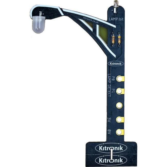 A product image for Kitronik LAMP:bit – Street Light for BBC micro:bit